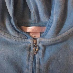 Victoria's Secret Velour Zip Up